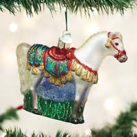 Arabian Horse Old World Christmas Ornament Glass Tree Animal NWT 12507