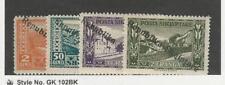 Albania, Postage Stamp, #179, 183-185 Mint Hinged, 1925