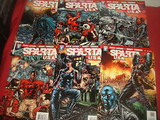 SPARTA USA #1-6 David Lapham Complete Set  DC Comics 2008  NM