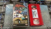 FINAL FANTASY VHS VOL 1 ITALIANO