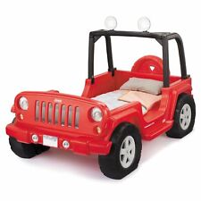 â–Little Tikes Jeep Wrangler Toddler to Twin Bed (Red) No Shipping #2018255161