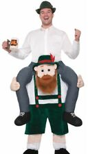 Beer Buddy Costume Carry Me Ride On Oktoberfest St Patricks Adult Mens Funny