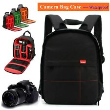 Waterproof DSLR SLR Camera Bag Backpack Shoulder  Case For Canon & Nikon & Sony