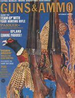 Guns & Ammo September 1966 How to 'Team Up' with Your Hunting Rifle
