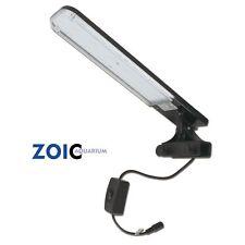 18LEDs White&Blue Aquarium Clip Lamp Light For 15-30CM Small Fish Tank Plant