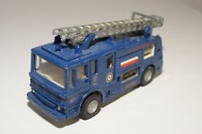 # DINKY TOY 285 MERRYWEATHER MARQUIS FIRE TENDER TRUCK BLUE EXCELLENT REPAINT