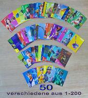 Panini Fortnite Serie 1 Trading Cards 50 verschiedene Sammelkarten