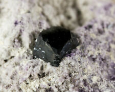 "3.5"" Sharp GrayBlack BIXBYITE Crystal w/Modified Corners In Matrix Utah for sale"