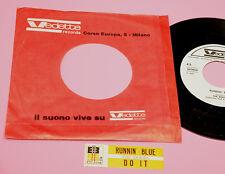 """DOORS 7"""" RUNNIN BLUE ORIG ITALY 1969 EX PROMO JB + STICKER !!!!!!!!!!!!!!!"""