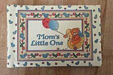 Vintage Cr Gibson Mom's Little One Baby Photo B 00004000 rag Book New