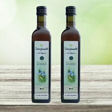 Bio Schwarzkümmelöl 1000ml (2x500ml) | ägyptisch, kaltgepresst, nativ, gefiltert
