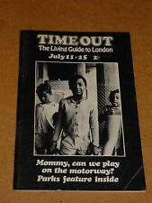 Time Out The Living Guide To London Magazine July 11-25 1970 (Soft Machine)