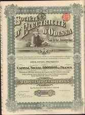 DECO => Electricité d'ODESSA (BELGIQUE UKRAINE RUSSIE) (D)