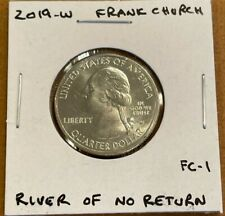 2019 W Frank Church River of No Return Idaho Quarter Great Condition
