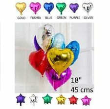 Heart Party Foil Balloons