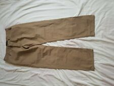 """MENS FRENCH CONNECTION BROWN STRAIGHT LEG JEANS SIZE 34"""" WAIST 31"""" LEG"""