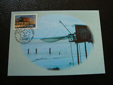 FRANCE - carte 1er jour 24/5/2003 (la peche au carrelet) (cy46) french