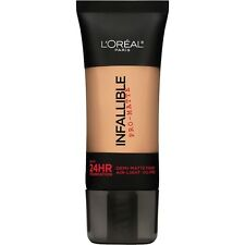 LOREAL Infallible Pro Matte Demi Matte Finish Foundation, Natural Buff 103 NEW