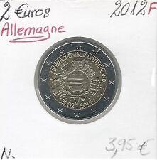 2 Euros - ALLEMAGNE - 2012 - Lettre: F // Qualité: Neuve (10 ans de circulation)