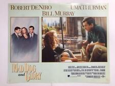 Robert De Niro Uma Thurman Mad Dog and Glory 1993 original lobby card 078