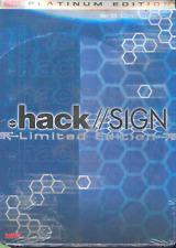 . Hack//SIGN Vol. 5 (2003, DVD, Limited) Platinum Edition (NEW) Region 1