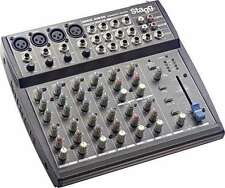 Stagg SMIX 4M4S LIVE Band PA KARAOKE Blocco Note MIXER 10 ingressi mixer