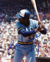 Milwaukee Brewers BEN OGLIVIE  auto signed autographed 8x10 1982 World Series
