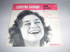 CATHERINE SAUVAGE EP FRANCE CHANTE LEO FERRE