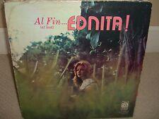 Ednita Nazario - Al Fin Ednita - Mega Rare Hard to Find LP Great Conditions - L4