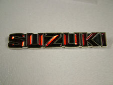 SUZUKI GT550, GT380, GT250, GT185, GT125, A100 TANK BADGE J, K, '72, '73
