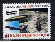 SAN MARINO 1 FRANCOBOLLO XX SECOLO SPAZIO 2000 nuovo**