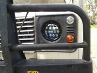 LANDROVER DEFENDER 130W LED Head light 7 inch *LEGAL* 12V OSRAM