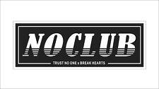 Night Runner No Club 3M Vinyl Hard Hat Sticker Decal Funny Motor Car Decor