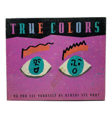 Vintage True Colors Board Game 1990 Milton Bradley Adult 90s Party Teen