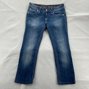 """Rock Revival Raquel Jeans Women's 30 Boot Cut Denim Jeans Size 33""""X 27"""""""