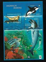 Bloc Feuillet 2002 N°48 Timbres France Neufs - Animaux Marins