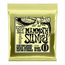 Ernie Ball Mammoth Slinky (2214) Electric Guitar Strings Gauge 12-62