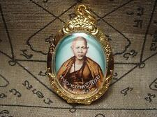 Antique Kruba Sriwichai Locket Thai buddha amulet  HQ