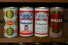 4 More cans from Puerto Rico - Budweiser & Malta