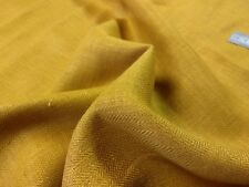 Stoff Leinen 100% Linen fabric Fischgrät Stoff atmungsaktiv blickdicht  tartain