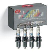 New 4 pcs NGK Laser Platinum Spark Plugs 94716/PLKR7B8E for Mercedes-Benz C250