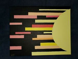 Abstract painting on canvas original