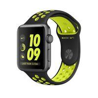 Apple Watch Series 2 Nike+ 38mm Space Grey Aluminum Black/Volt Sport Band