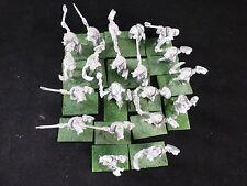 28mm Pre-Slotta Metal Fantasy Miniatures : Savage Feral Orcs Regiment (20)