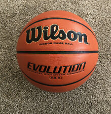 Wilson Vintage Wtb0586 Evolution Basketball 28.5 Intermediate Size New