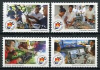 Kiribati Ships Stamps 2017 MNH Marine Training Centre 50th Anniv Boats 4v Set
