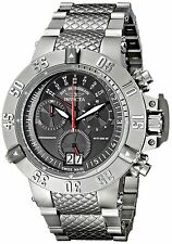 Men's Invicta 17611 Subaqua Swiss Chronograph Black Dial Stainless Steel Watch