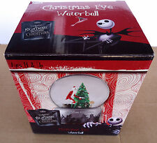 THE NIGHTMARE BEFORE CHRISTMAS EVE WATERBALL/SNOW GLOBE JACK SKELLINGTON NEW
