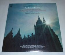 """God of Our Fathers Mormon Tabernacle Choir Columbia Records 12"""" 33 RPM Christian"""