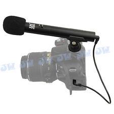 JJC Mini Shotgun Microphone For Canon EOS 700D 650D 550D 600D 5D2 5D3 7D 7D2 R30